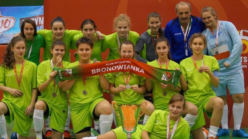 Nasze uczennice vice-mistrzyniami Polski