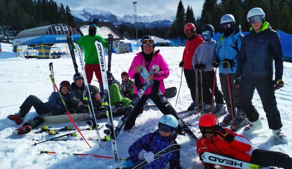 """Tak nasi """"szkolni narciarze"""" żegnali zimę w Jurgowie"""